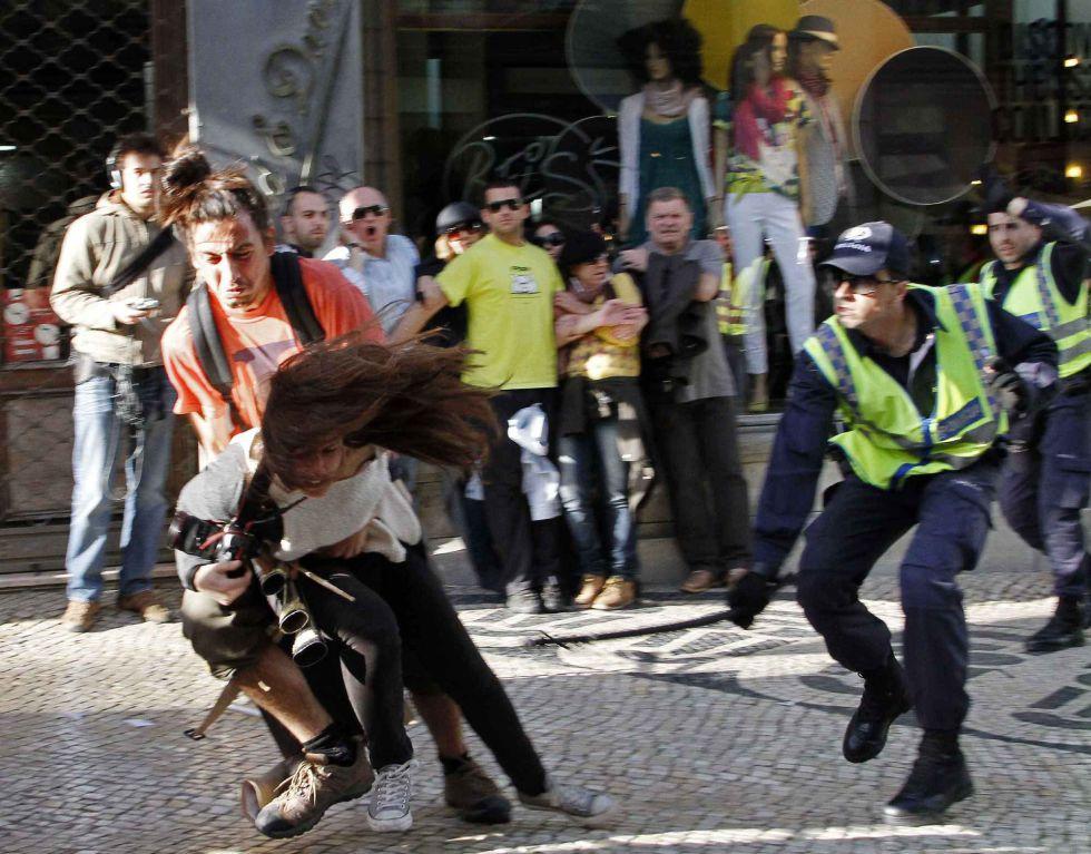 Jornalista agredido pela Polícia